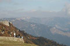 Week-end dans la montagne Images libres de droits