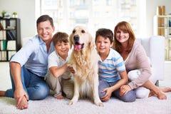 Week-end de famille image libre de droits