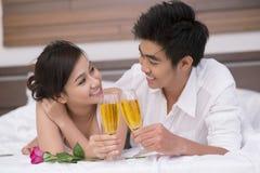 Week-end romantique Photo stock