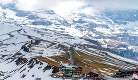 A week-end in Swiss Alps. Switzerland is well known for its wonderful mountains. And its fame is just truth Stock Photography