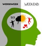 Week weekend Stock Photos