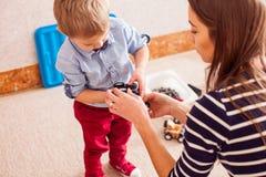 Weekdagen in kleuterschool Stock Fotografie