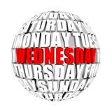Weekday circulation in nature Royalty Free Stock Photos