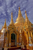 Weekday pagoda @ Shwedagon pagoda Royalty Free Stock Photo
