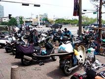 Weekday traffic in Seoul, Korea Stock Images