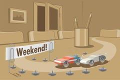 Weekend Royalty-vrije Stock Afbeeldingen