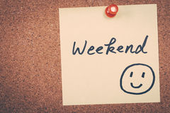 weekend immagine stock libera da diritti