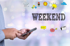 weekend imagens de stock