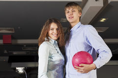 Weekend at bowling Stock Images