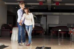 Weekend at bowling Royalty Free Stock Photos