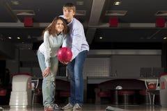 Weekend at bowling Stock Photos
