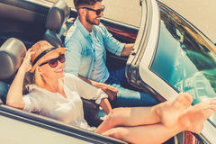 Weekend drive. Royalty Free Stock Photos