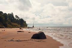 Weekend en el mar Fotografía de archivo libre de regalías