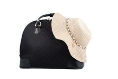 Weekend getaway bag Royalty Free Stock Image
