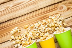 Weekend at home, leisure lifestyle, TV, fast food concept. royalty free stock photos