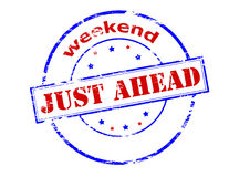 Weekend just ahead Royalty Free Stock Photography