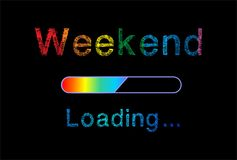 Weekend loading Stock Images