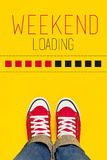 Weekend Loading Concept Stock Photography