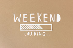 Weekend loading... Stock Images