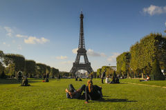 A weekend in Paris royalty free stock photography