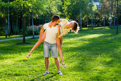 Weekend in the park. Stock Photography