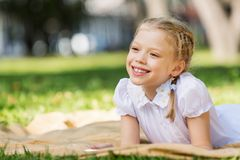Weekend in park Royalty Free Stock Photography