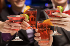 Weekend party Royalty Free Stock Photography