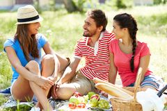 Weekend picnic Royalty Free Stock Photography