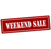 Weekend sale Royalty Free Stock Photography