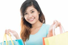 Weekend shopping Royalty Free Stock Photo