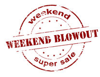 Weekend super sale Royalty Free Stock Photos