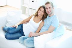 Weekend together Stock Photography