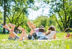 Weekend w parku Obraz Stock