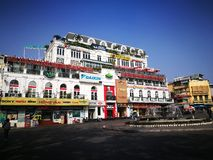 Weekend walking street on Kinh Nghia Thuc square in the center of Hanoi Stock Photos