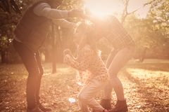 Weekend was created for fun and family. royalty free stock image