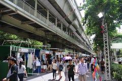 Weekendu rynek Zdjęcie Royalty Free