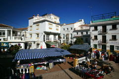 Market in Andalusia Royalty Free Stock Photography