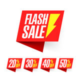 Weekly Flash Sale banner Royalty Free Stock Image