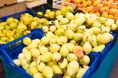 Weekly market Tuscany Royalty Free Stock Photos