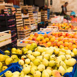 Weekly market Tuscany Stock Photos