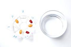 Take the pills Stock Photo