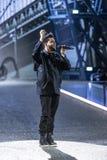 Weeknd wykonuje podczas Wiktoria ` s sekretu pokazu mody Zdjęcie Royalty Free