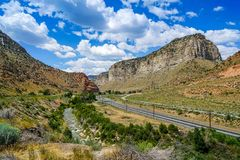 Weeks. It could take weeks to explore all there is to see in this area of Utah Royalty Free Stock Image