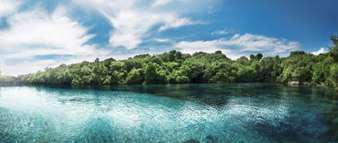 Weekuri Lagoon, Sumba, Indonesia Royalty Free Stock Photos