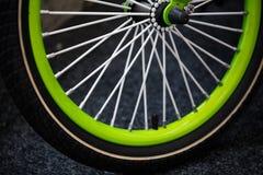 Weel della bici Fotografie Stock