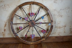 Weel di legno occidentale Fotografia Stock Libera da Diritti