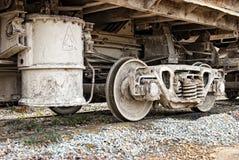Weel sucio de los carros Imagen de archivo