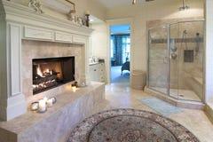 Weelderige badkamers Royalty-vrije Stock Afbeeldingen