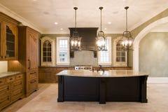 Weelderige keuken Royalty-vrije Stock Fotografie