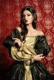 Weelderige kleding Royalty-vrije Stock Foto